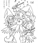 coloriage magical doremi 011